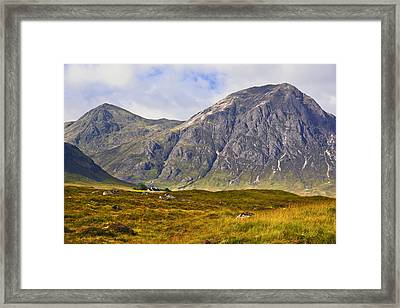 Buachaille Etive Mor - Glencoe Framed Print