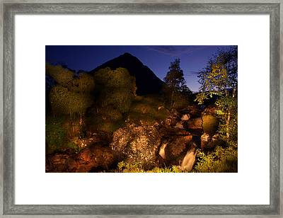 Buachaille Etive Mor - Glencoe II Framed Print by Niall McWilliam