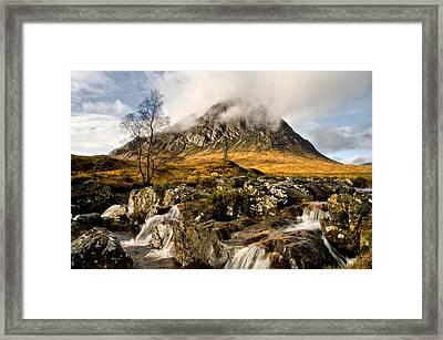 Buachaille Etive Mor Framed Print by Jacqi Elmslie
