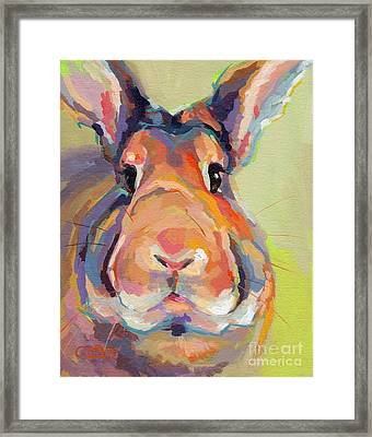 Bubba Omalley Framed Print by Kimberly Santini