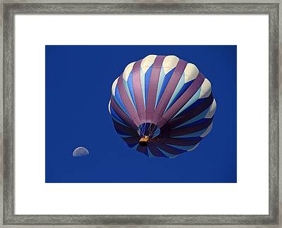 Bubballoon Framed Print by Donna Kennedy