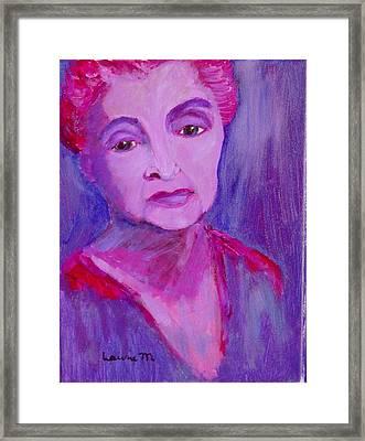 Bubbe Hinda Framed Print
