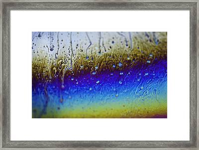 Bubble Art Framed Print