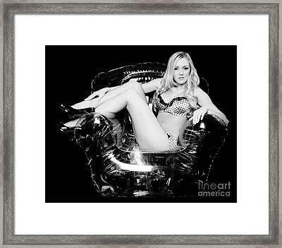 Bubble Chair Framed Print