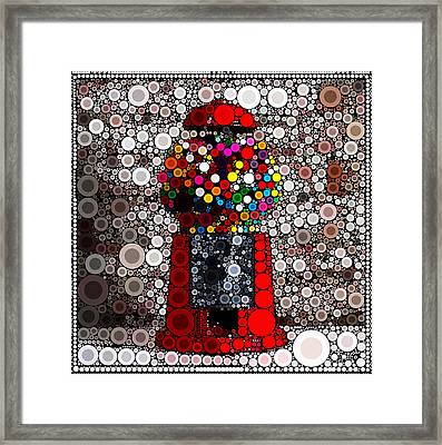 Bubble Gum Goodness Framed Print