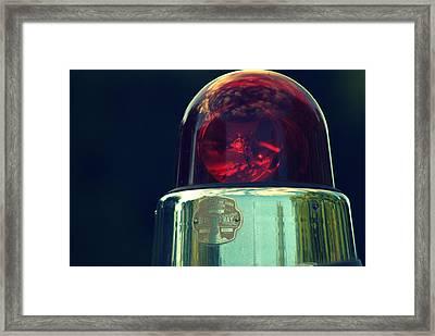 Bubble Light Framed Print