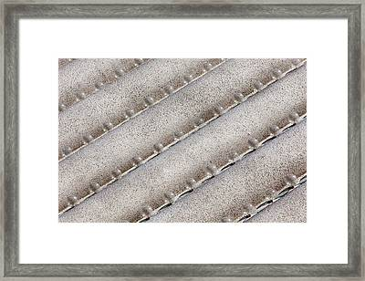Bubble Lights Framed Print by Art Block Collections
