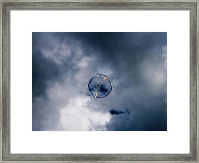 Bubble Framed Print by Robert Hellstrom