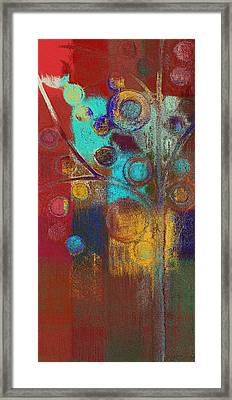 Bubble Tree - Rs62at01b Framed Print