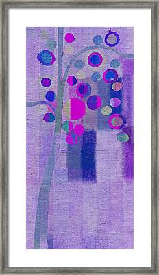 Bubble Tree - S85lc03 Framed Print by Variance Collections