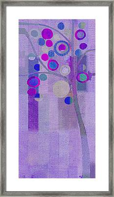 Bubble Tree - S85rc03 Framed Print by Variance Collections