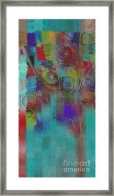 Bubble Tree - Sped09l Framed Print by Variance Collections