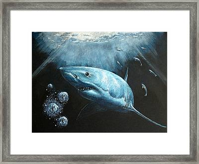 Bubble Trouble Framed Print