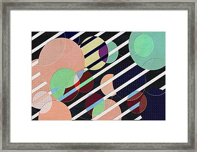 Bubble Universe Framed Print by Linda Dunn