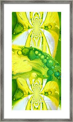 Framed Print featuring the photograph Bubbleicious by Robert Kernodle