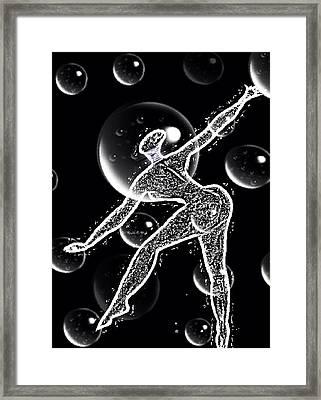Bubblelyfe Framed Print