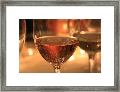 Bubbles 3 Framed Print by Penelope Moore