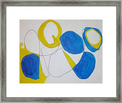Bubbles Framed Print by Erika Chamberlin