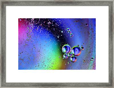 Bubbles Framed Print by EXparte SE