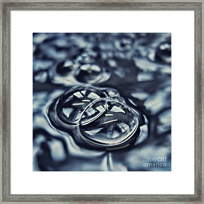 Bubbles Framed Print by HD Connelly