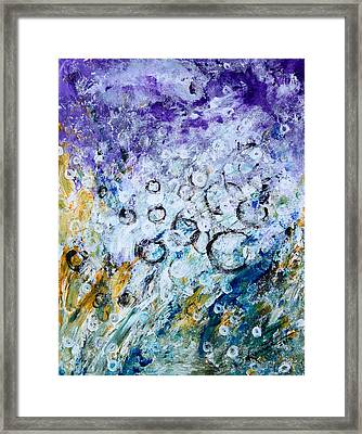 Bubbles Framed Print by Kume Bryant