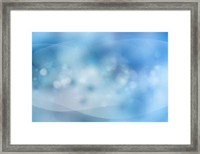 Bubbles Framed Print by Les Cunliffe