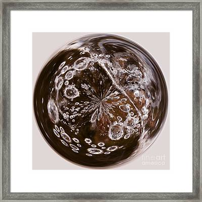Bubbles Within Bubble Framed Print by Anne Gilbert