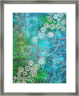 Bubble's World Framed Print by Shabnam Nassir