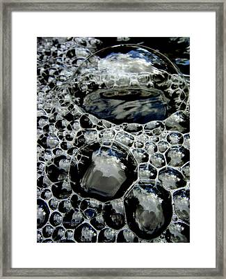Bubblescape Framed Print