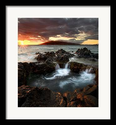 Lava Rock Framed Prints