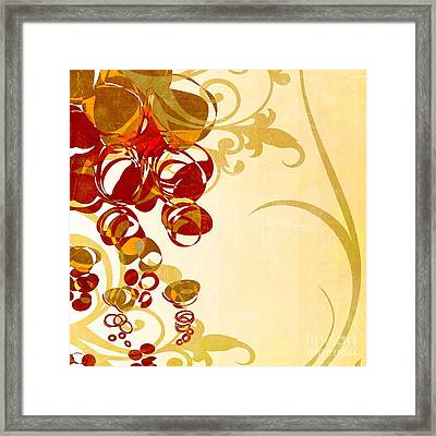 Bubbling Bubbles - 102br03 Framed Print