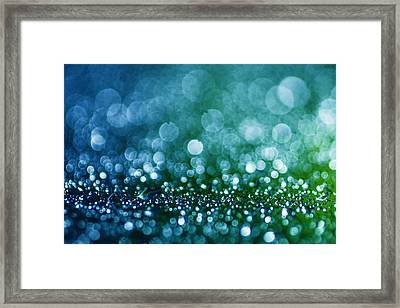 Framed Print featuring the photograph Bubbly by Arkady Kunysz