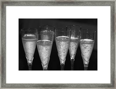Bubbly II Framed Print by Bonnes Eyes Fine Art Photography