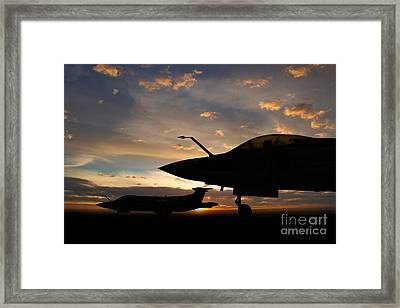 Buccaneer Sunset Framed Print