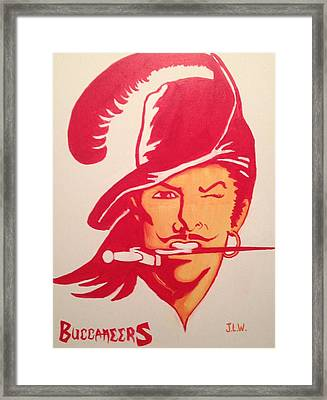Buccaneers Framed Print by Justin Lee Williams