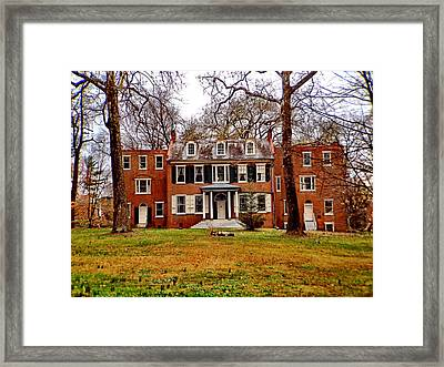Buchanan House Framed Print