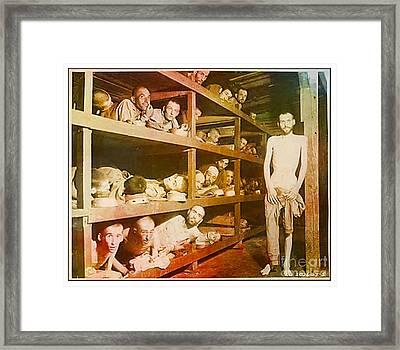 Buchenwald Concentration Camp Framed Print