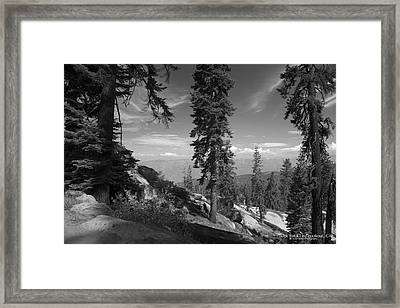 Buck Rock Fire Lookout Framed Print by Ivete Basso Photography
