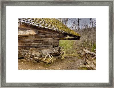 Buckboard Framed Print