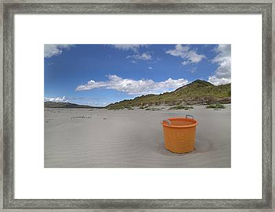 Bucket List Framed Print by Betsy Knapp