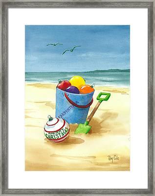 Bucket Of Fun Framed Print
