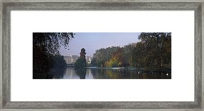 Buckingham Palace, City Of Westminster Framed Print by Panoramic Images