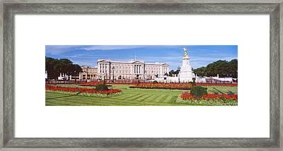 Buckingham Palace, London, England Framed Print