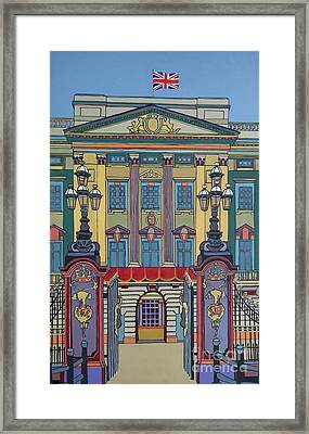 Buckingham Palace Framed Print by Nicky Leigh
