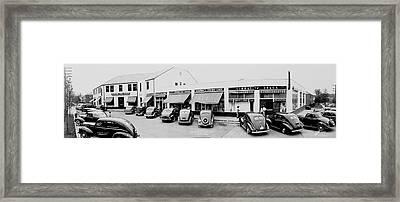 Buckingham Shopping Center 1, Glebe Rd Framed Print