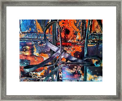 Buckle Up Framed Print by Olivier Calas