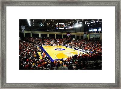 Bucknell Bison Sojka Pavilion Framed Print by Replay Photos