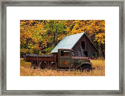 Buckner Orchard Framed Print by Mark Kiver
