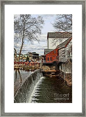 Bucks County Playhouse Framed Print