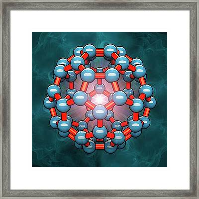 Buckyball Framed Print